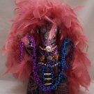 Hand Crafted FEATHERED FANTASY DOLL