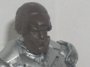 Confiscated opening Tin Man head