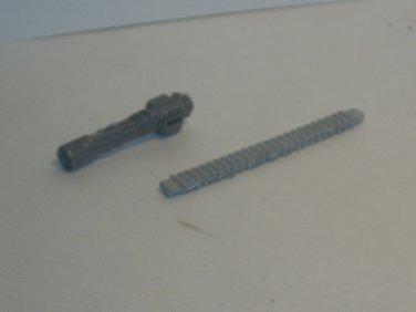 Shoulder minigun w/ ammo strap