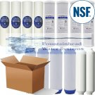 FOUNTAINHEAD 14 PIECE SEDIMENT/GAC/CARBON BLOCK INLINE CARBON NSF WATER FILTERS