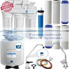 5 Stage Reverse Osmosis System 75 GPD. Choice of Faucets. Bonus Filters