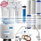 5 Stage Reverse Osmosis System 50 GPD. Choice of Faucets. Bonus Filters