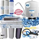 RO/DI Dual Outlet 6 Stage 150GPD Drinking Water/ Aquarium Reverse Osmosis System