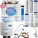 Reverse Osmosis Alkaline/Ionizer Neg ORP Water Filter 100GPD Choice of Faucet
