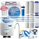 Reverse Osmosis Alkaline/Ionizer ORP Water Filter 8.5-10 Ph Choice of Faucet
