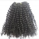 """14"""" Indian Remy Tight Kinky Curl Machine Hair Wefts, 2 packs, 8 oz"""