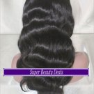 """20"""" Indian Remy Body Wave Full Lace Wig"""