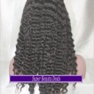 """22"""" Indian Remy Deep Wave Full Lace Wig"""