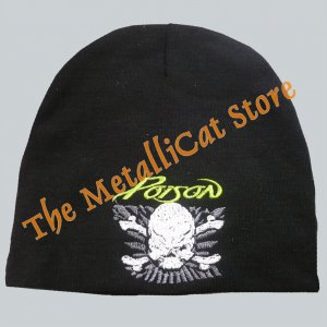 BEANIE POISON Flesh & Blood EMBROIDERED LOGO CD