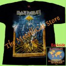 T-SHIRT IRON MAIDEN Somewhere Back in Time World Tour 2009 CD SIZE S