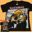 T-SHIRT IRON MAIDEN Be Quick or Be Dead CD SIZE S for GIRLS