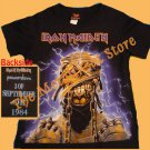 T-SHIRT IRON MAIDEN Powerslave Mummy CD SIZE S for GIRLS