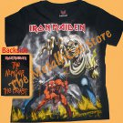 T-SHIRT IRON MAIDEN The Number of the Beast CD SIZE S for GIRLS