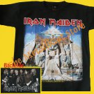 T-SHIRT IRON MAIDEN Powerslave CD SIZE S HEAVY METAL