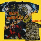 T-SHIRT IRON MAIDEN The Number of the Beast ALLOVER HEAVY METAL CD SIZE S