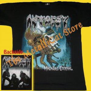 T-SHIRT AUTOPSY Macabre Eternal CD SIZE L DEATH METAL