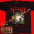 T-SHIRT AUTOPSY Severed Survival/Retribution for the Dead CD SIZE L DEATH METAL
