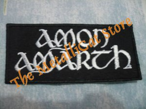 AMON AMARTH Band Logo SMALL EMBROIDERED PATCH CD DEATH METAL
