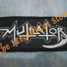 MUTILATOR Band Logo SMALL EMBROIDERED PATCH CD THRASH METAL
