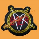 SLAYER Reign in Blood Band Logo BIG EMBROIDERED PATCH CD THRASH METAL