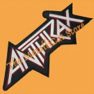 ANTHRAX Big Logo Embroidered Patch CD THRASH METAL