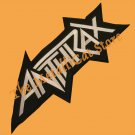 ANTHRAX Big Logo 2 Embroidered Patch CD THRASH METAL