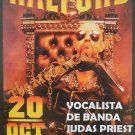 ROB HALDFORD Concert in Lima 2010 DVD HEAVY METAL