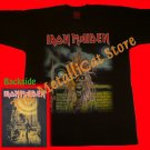 T-SHIRT IRON MAIDEN Iron Maiden First LP CD SIZE L HEAVY METAL