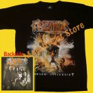 T-SHIRT KREATOR Phantom Antichrist THRASH METAL CD SIZE L