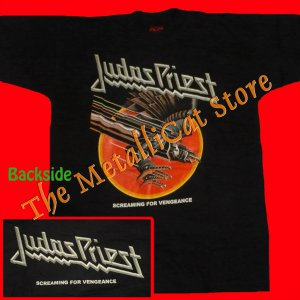 T-SHIRT JUDAS PRIEST Screaming for Vengeance CD SIZE XXL
