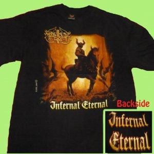 T-SHIRT MARDUK Infernal Eternal BLACK METAL CD SIZE XXL