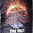 BLACK SABBATH The End World Tour FLAG CLOTH POSTER WALL TAPESTRY BANNER CD Ozzy