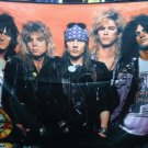 GUNS N' ROSES Band 1 FLAG BANNER CLOTH POSTER WALL TAPESTRY CD Lies METAL