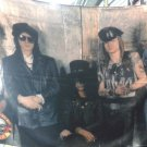 GUNS N' ROSES Band 5 FLAG BANNER CLOTH POSTER WALL TAPESTRY CD Lies METAL