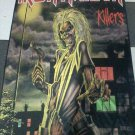 IRON MAIDEN Killers FLAG CLOTH POSTER WALL TAPESTRY BANNER CD Metal