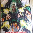 IRON MAIDEN No Prayer For The Dying FLAG CLOTH POSTER WALL TAPESTRY BANNER CD