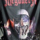 MEGADETH Killing is my Business FLAG CLOTH POSTER WALL TAPESTRY BANNER CD Thrash