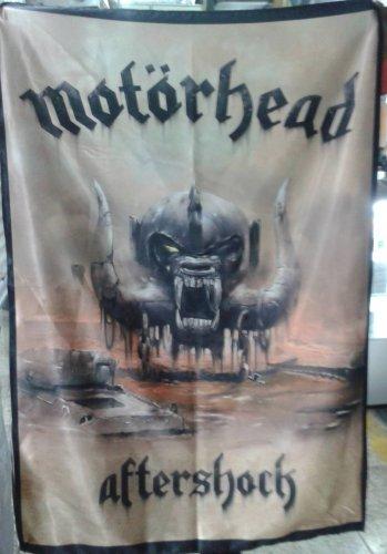 MOTORHEAD Aftershock FLAG CLOTH POSTER TAPESTRY BANNER CD Thrash Metal