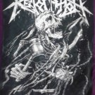 REVOCATION Skull Hammered FLAG CLOTH POSTER WALL TAPESTRY BANNER CD Thrash Metal