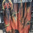 SLAYER Hell Awaits FLAG CLOTH POSTER WALL TAPESTRY BANNER CD Thrash Metal