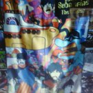 THE BEATLES Yellow Submarine FLAG CLOTH POSTER WALL TAPESTRY BANNER CD LP