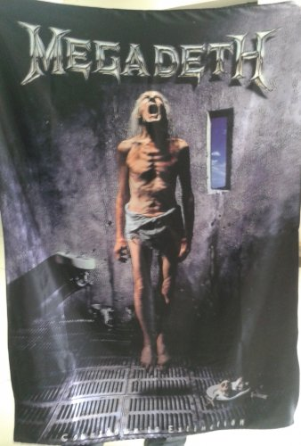 MEGADETH Countdown to Extinction FLAG CLOTH POSTER WALL TAPESTRYAN BANNER Thrash