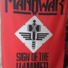 MANOWAR Sign of the Hammer FLAG CLOTH POSTER WALL TAPESTRY BANNER Power Metal