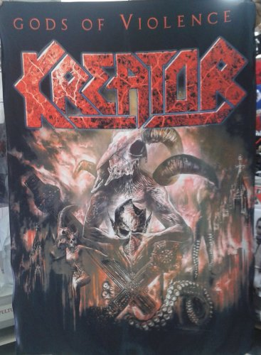 KREATOR Gods of Violence FLAG BANNER CLOTH POSTER TAPESTRY Thrash Metal