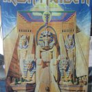 IRON MAIDEN Powerslave LP Cover Art FLAG CLOTH POSTER WALL TAPESTRY BANNER Heavy Metal