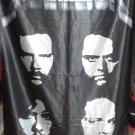METALLICA The Black Album FLAG CLOTH POSTER WALL TAPESTRY BANNER CD Thrash