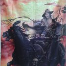 IRON MAIDEN Death On the Road FLAG CLOTH POSTER WALL TAPESTRY BANNER CD