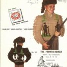 Mary Maxim Boys Frontiersman Graph Style Knitting Pattern