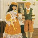 Annie's Attic: Ren Fest Outfits to Crochet for Barbie Size Dolls Yesteryear Outfits