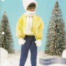 Annies Attic Barbie Winter Warmers Crochet Pattern